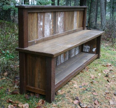 reclaimed rustic three cubby entry pinterest the world s catalog of ideas