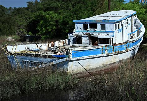 boats for sale in beaufort sc wrecked shrimp boat beaufort sc photograph by w kurt staley