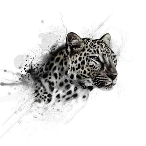 leopard tattoo design 25 best ideas about jaguar on