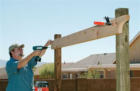 how to build a pergola roof how to build a pergola right in your backyard