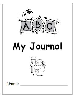 printable writing journal covers my writing journal cover page