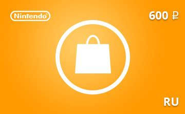 Eshop Gift Card Discount - buy nintendo eshop gift card 600 rub ru region and download