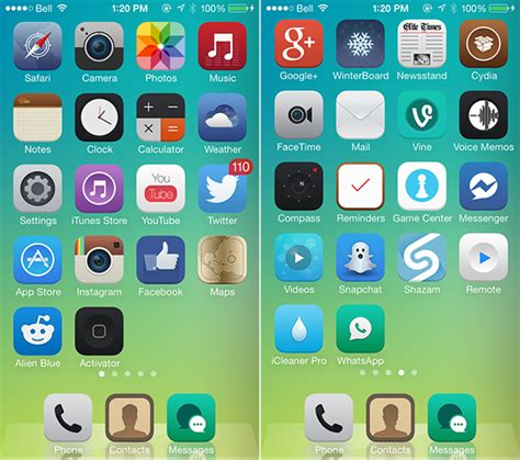 my photo themes apps the best winterboard themes for ios 7