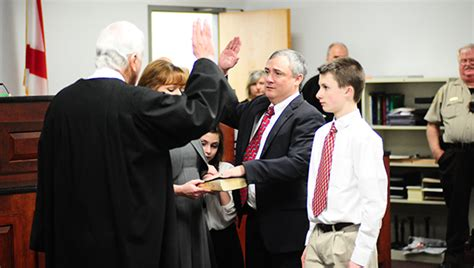 Shelby County Alabama Court Records Daniel Crowson Sworn In As Shelby County District Court Judge Shelby County Reporter