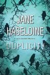 duplicity a gooden mystery books the last time she saw him by haseldine