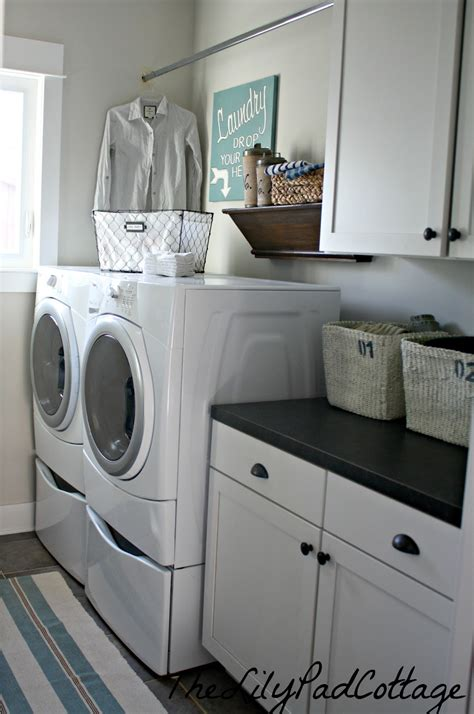 laundry room laundry room reveal the lilypad cottage