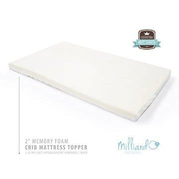 Top 10 Best Memory Foam Crib Mattress Topper Reviews Best Foam Crib Mattress