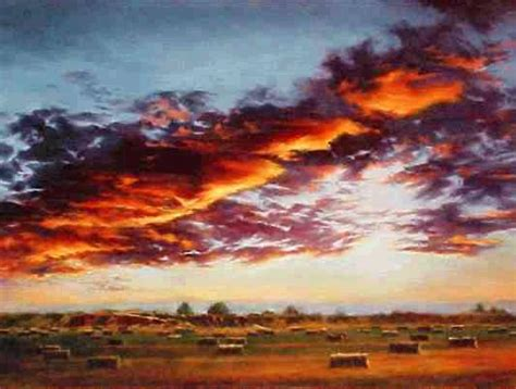 painting section quot evening glory quot oil 36 x 48