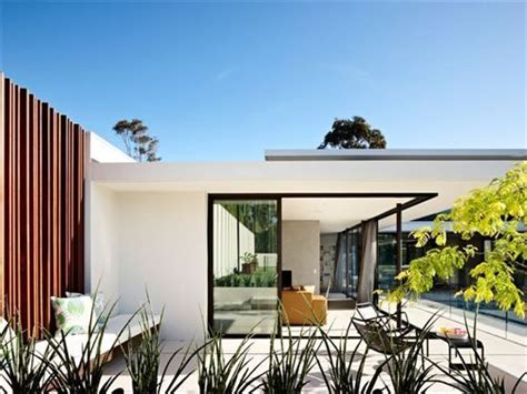 home design shows australia white render black window frames wood exterior