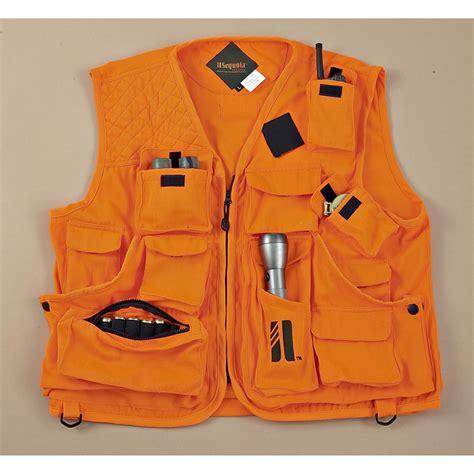orange vest sequoia vestpak orange vest 142212 vests at sportsman s guide