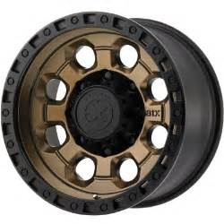 Bronze Colored Truck Wheels New Atx Series Ax201 Wheels