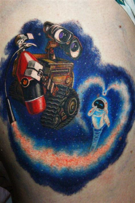 wall e tattoo wall e by nikasamarina on deviantart