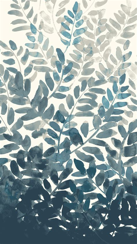 background pattern mobile free watercolor fern mobile wallpaper front main