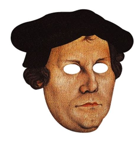 Paper Mask Martin 22 best images about reformation day on