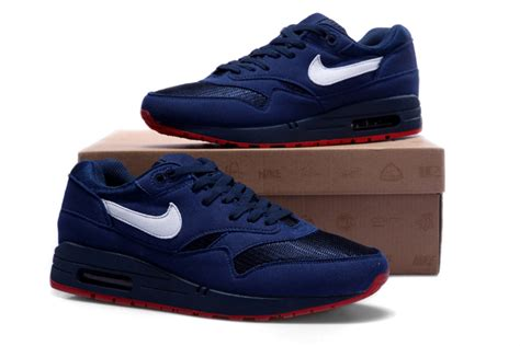 Are Nike Air 1 Comfortable by Get Comfortable Nike Air Max Trainers 1 White Deepblue