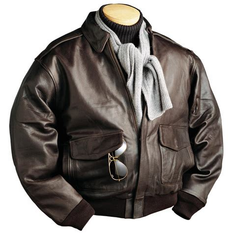 burk s bay a 1 cowhide leather bomber jacket 625893