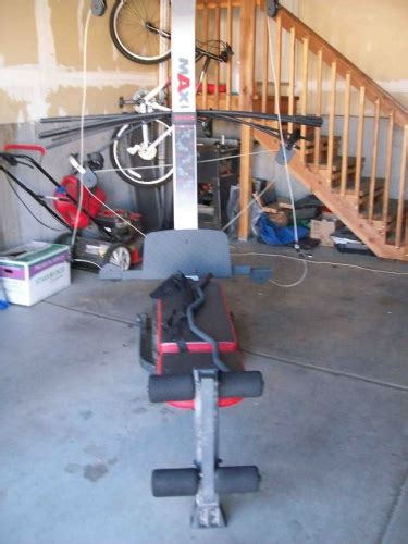 weider max xp400 weight system for sale in west