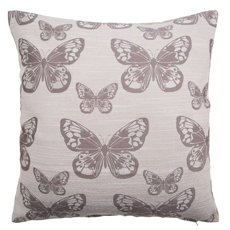 Bethany Butterfly Oversized Cushion   Large Cushions   Cushions