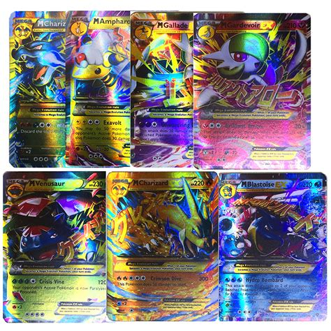 X New Holo Melintang Ac158 mega ex gx all holo flash cards charizard venusaur album book protection ebay