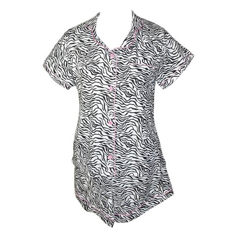 Zebra Piyama Set s sleepwear pajamas nightgowns sets beltoutlet