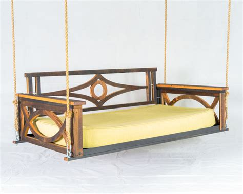 bed swings barn wood bed swing the porch companythe porch company