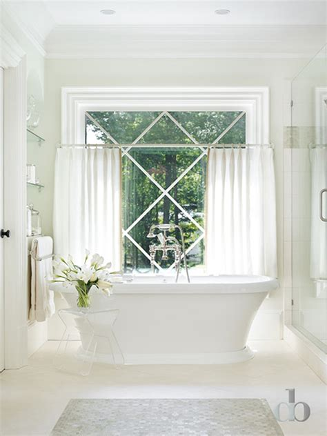 White Bathroom Window Curtains Cafe Curtains In Bathroom Curtain Menzilperde Net
