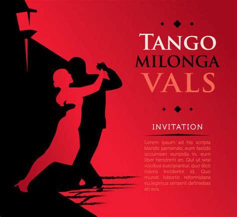 design contest tango tango poster vector download
