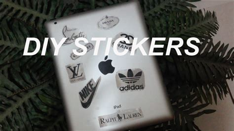 diy stickers  tape youtube