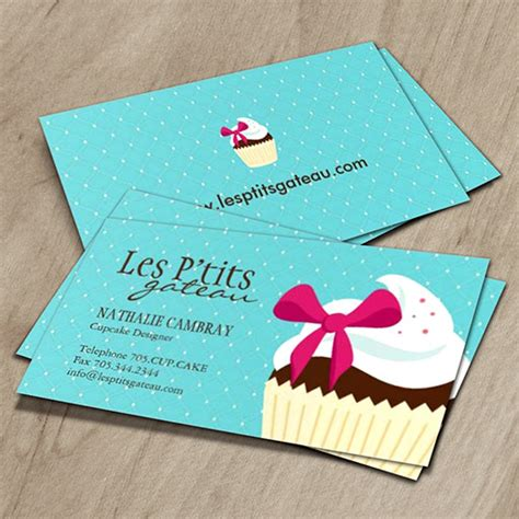 cupcakes business cards templates business card templates bizcardstudio
