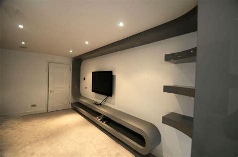 tv unit design for hall fitted living room furniture london bespoke tv unit