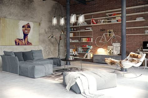 industrial theme an industrial theme of apartment interior design showing a gorgeous and fabulous character