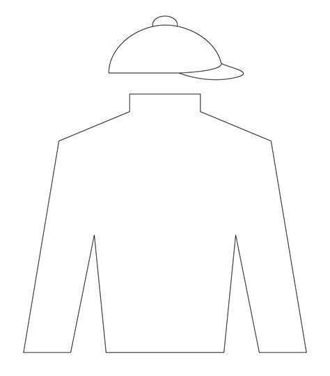 derby silks coloring page coloring pages