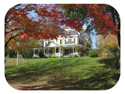 Queen Anne House Moore S Inn Lodging And Bike Tours Saxtons River Vermont