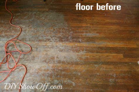 How To Sand And Refinish Hardwood Floors by How To Refinish Hardwood Floorsdiy Show Diy