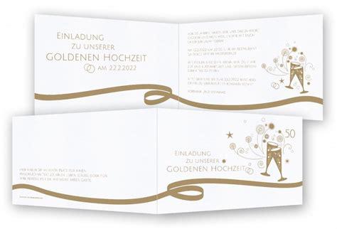 hochzeitstag schweiz einladungskarten goldene hochzeit feinekarten