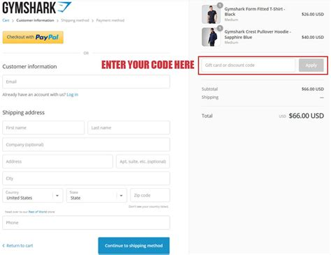 gymshark discount codes coupons   february