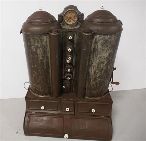 tin chuck wagon pantry  clock
