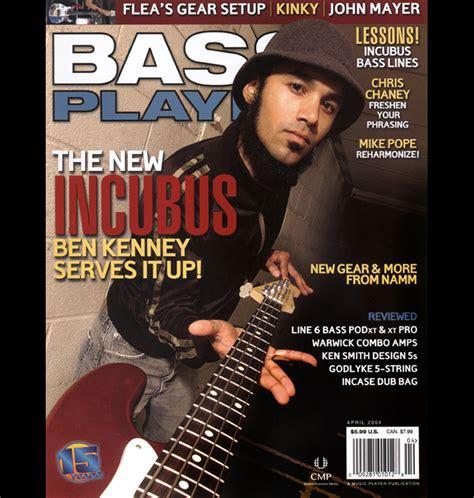 cancel magazines incubus bass player cover b annamaria disanto