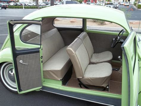 beetle volkswagen interior vw beetle custom interior