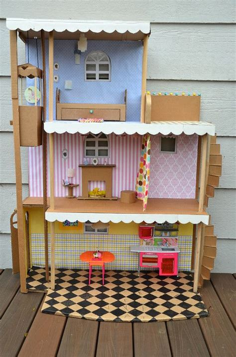 ideas for doll houses 209 best images about barbie crafts on pinterest barbie house miniature and barbie dolls