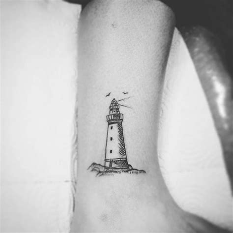small lighthouse tattoo 40 most beautiful nautical designs
