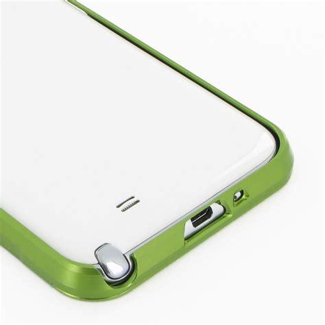 Bumper Alumunium Slide For Samsung Galaxy Note2 N7100 Frame samsung galaxy note 2 aluminum metal bumper green
