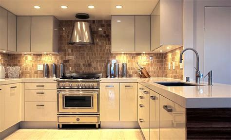 Retro Metal Kitchen Cabinets by Under Cabinet Lighting Adds Style And Function To Your Kitchen