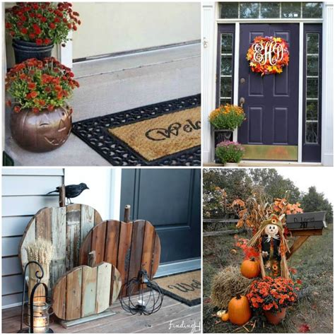 fall decorating outside your house outdoor fall decorating ideas for your home
