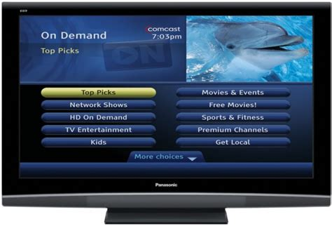 Comcast Walled Garden Comcast Xcalibur Smart Tv Trials Tip Tv Rival
