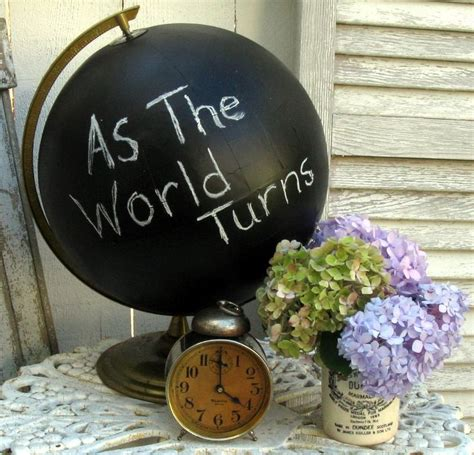 chalkboard paint globe 17 best images about globes on recycling