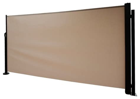 Retractable Folding Screen Privacy Divider With Steel Pole