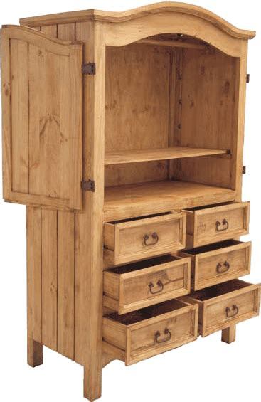 rustic pine jewelry armoire rustic wardrobe pine armoire and mexican pine armoire