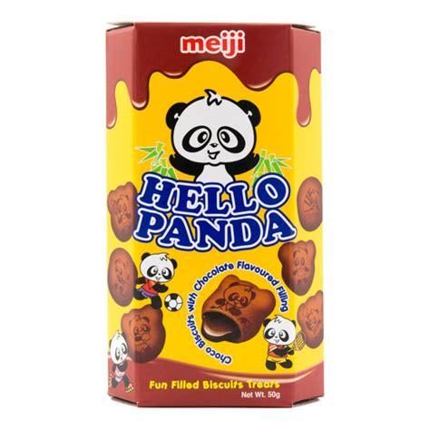 Meiji Hello Panda Biscuit japan centre meiji hello panda chocolate biscuits