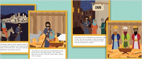 illustrated new year story illustrated nativity story printable free early years